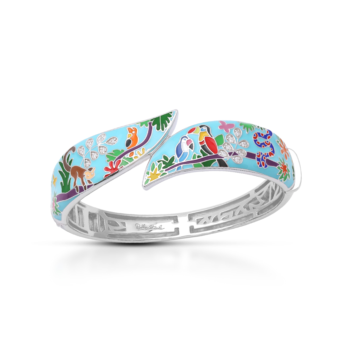 Belle Etoile - Tropical_Rainforest_Blue_and_Multi_Bangle_07022010302.jpg - brand name designer jewelry in Morgantown, West Virginia