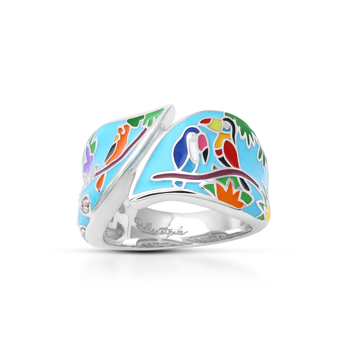 Belle Etoile - Tropical_Rainforest_Blue_and_Multi_Ring_01022010302.jpg - brand name designer jewelry in Morgantown, West Virginia